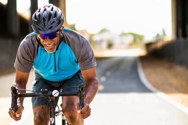 In one small study, cyclists who ate a banana before a 46-mile ride performed as well as the ones who drank a sports drink before they took off.