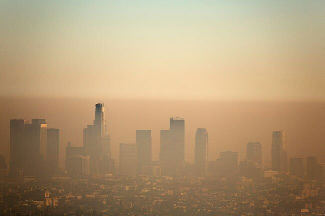 Air pollution and smoke may turn nasal mucus brown.