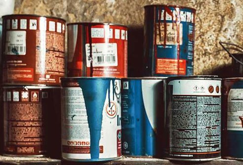 Leftover water-based latex paint that has not been stored in an airtight container at room temperature can break down in a matter of months or sooner.