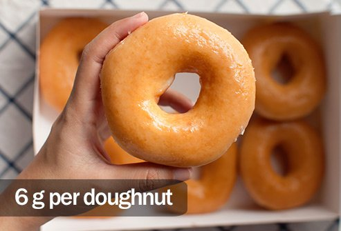 Doughnuts have more saturated fat and none of the vitamins and minerals avocados have.