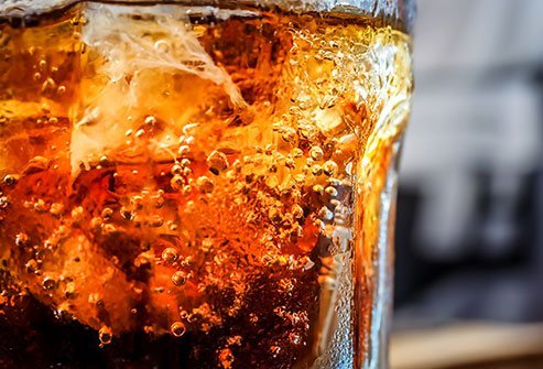 Carbonated drinks can leave excess gas in your stomach.