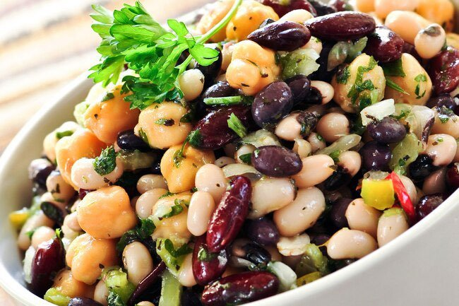 Increase good resistant starch in beans by cooling them down and refrigerating them.