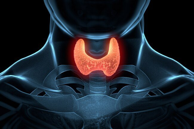 You may get chills as a result of an underactive thyroid.