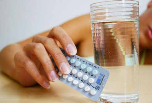 Hormones in birth control pills may trigger hair loss.
