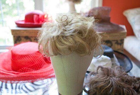Wigs are a good option to conceal hair loss.