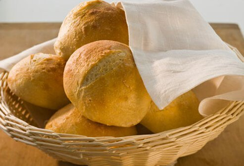 High Carb Basket of Bread.