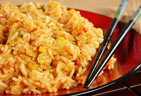 Photo of fried rice.