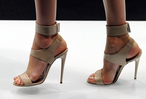 Photo of stiletto heels.