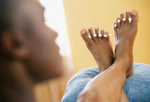 There's no reason a guy can't have neat toenails.